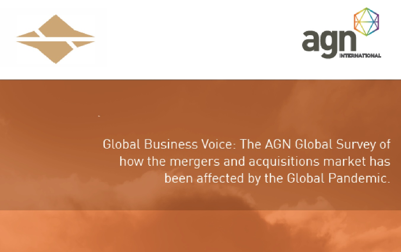 Global Business Voice: The AGN Global Survey of how the mergers and acquisitions market has been affected by the Global Pandemic.